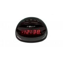 Radio Despertador NEVIR NVR333DD Negro