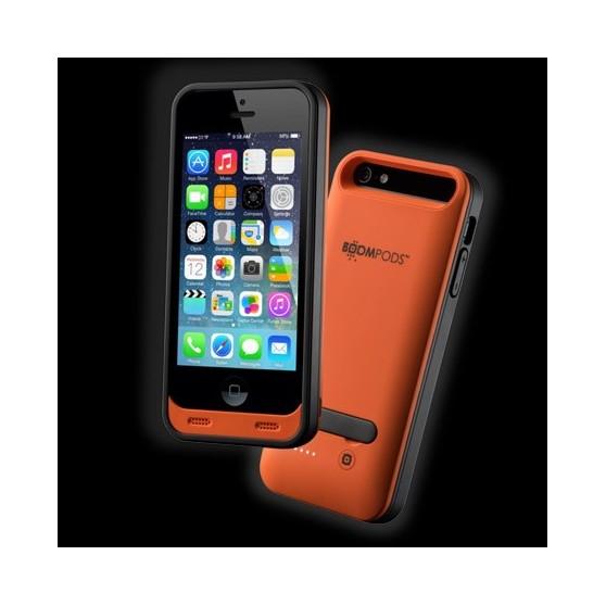Funda BOOMPODS Powercase Iphone 5 Naranja