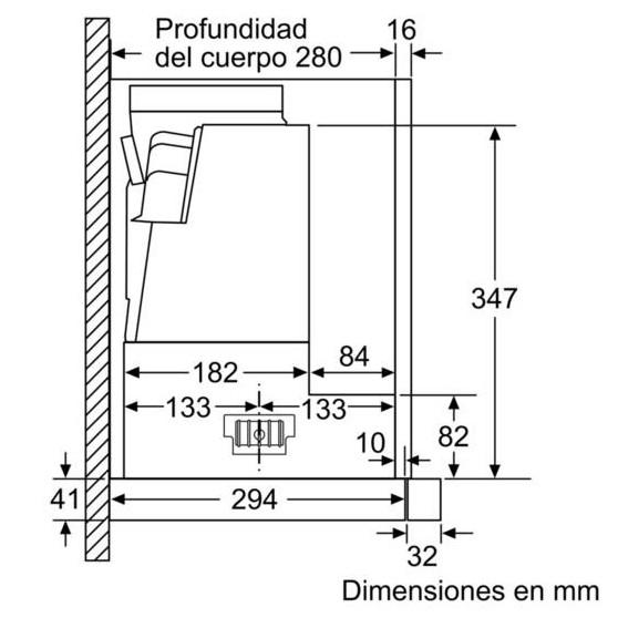 Campana Telescópica BOSCH DFS097K50 90cm Inox