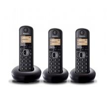 Teléfono PANASONIC KXTGB213SPB Trio Negro