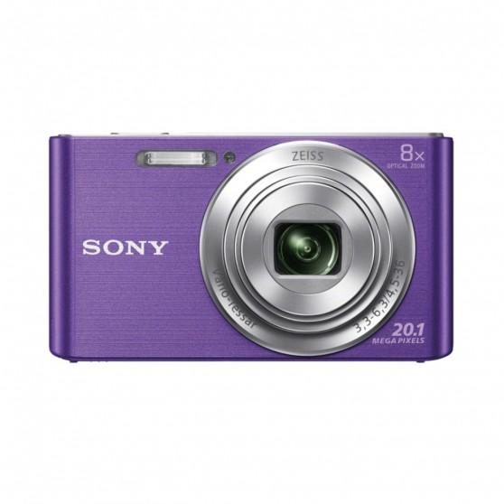 Cámara Fotos SONY DSCW830V Violeta 20MP 8X