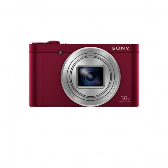 Cámara Fotos SONY DSCWX500R Roja 18,2 Wifi
