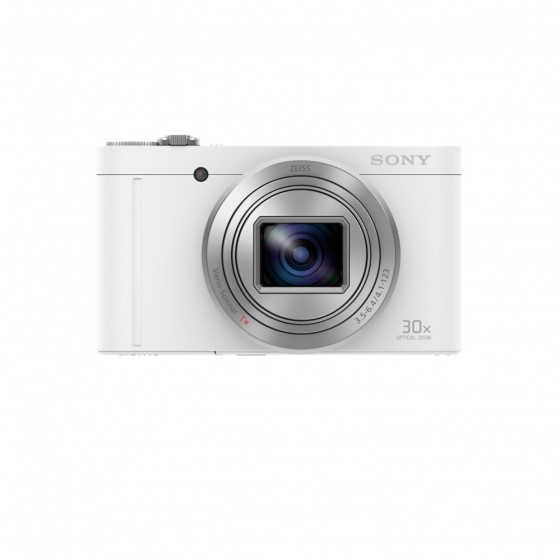 Cámara Fotos SONY DSCWX500W Blanca 18,2 Wifi