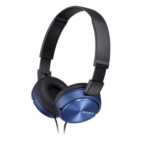 Auriculares SONY MDRZX310L Azul Plegable