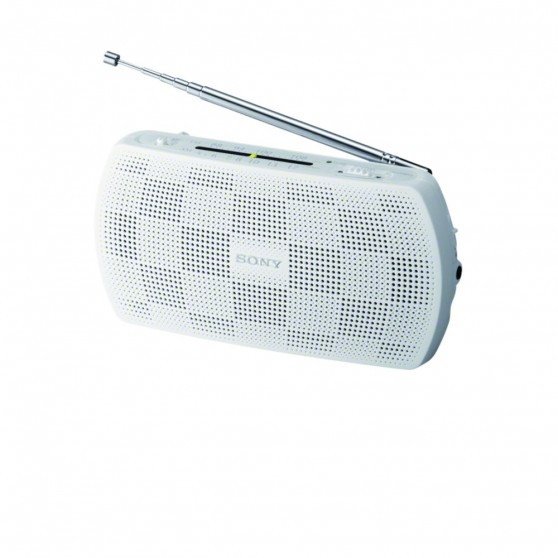 Radio SONY SRF18W Portátil MP3 Blanco