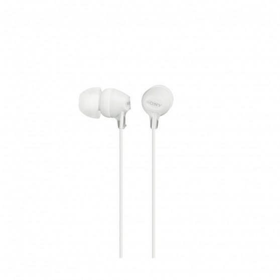 Auriculares SONY MDREX15LPW Blancos 1,2m