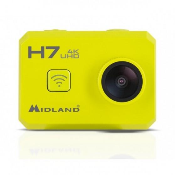 ActionCam Midland H7 Acuática 4K Amarillo