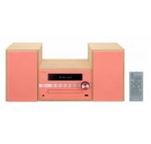 Microcadena PIONEER XCM56R Rojo Bluetooth