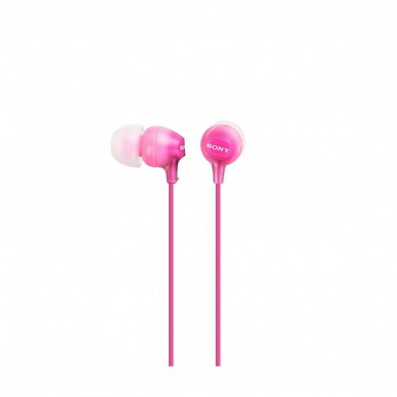 Auriculares SONY MDREX15LPPI Rosa 1,2m