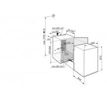 Congelador Integrable LIEBHERR IGS1624 0.89m