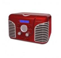 Radio CD - SUNSTECH RPRD2600 Rojo