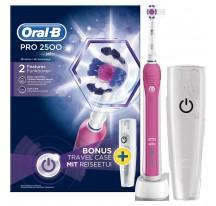 Cepillo Dental ORAL-B PRO2500 Rosa con Estuche