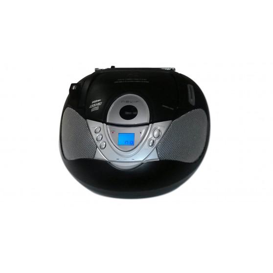 Radio CD - NEVIR NVR474U MP3 USB Negro