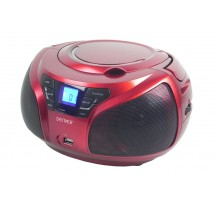 Radio CD - DENVER TCU206R Rojo